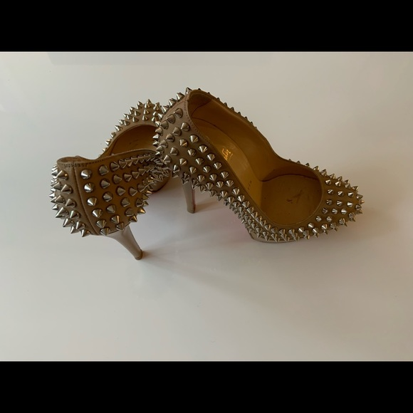 Christian Louboutain Heels Spiked